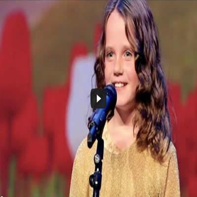 A garotinha de 9 anos que impressionou o Holland's got talent 2013 2