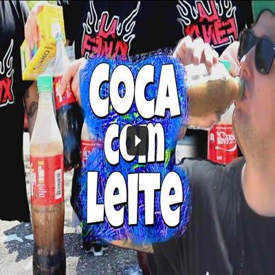 Desafio da Coca com Leite 2