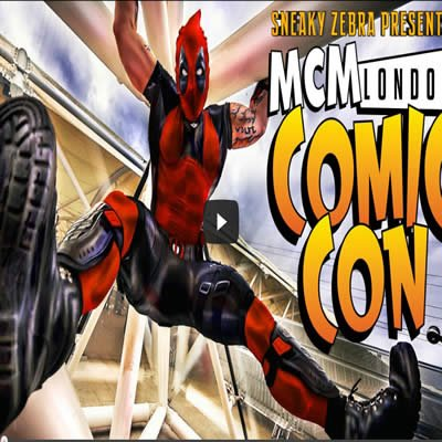 MCM Expo – London Comic Con Winter 2013‏