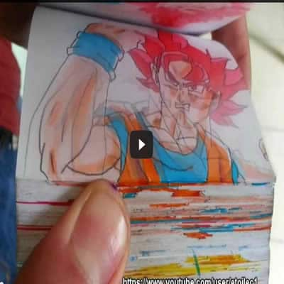 Épica batalha – Goku vs Superman flipbook