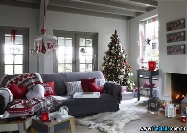 Idéias para o Natal Interior (31 fotos) 7
