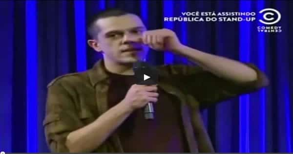 Osmar Campbell na República do Stand up 5