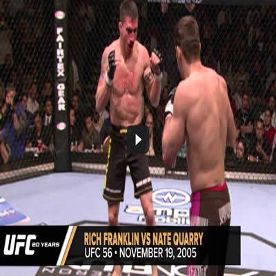Os 20 melhores nocautes da UFC 3