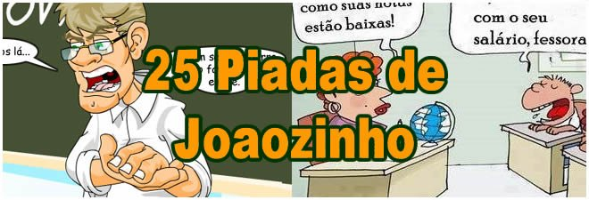 Photo of 25 Piadas de Joaozinho