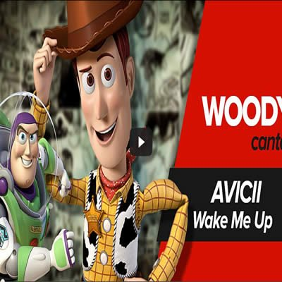 AVICII – Wake me up – Paródia Woody - woody