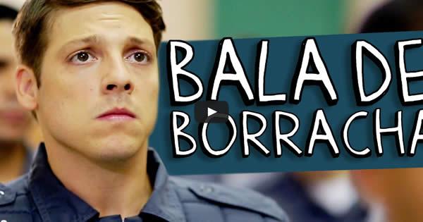 Bala de borracha 8