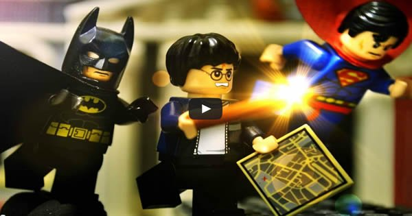 Lego Harry Potter – Stop motion