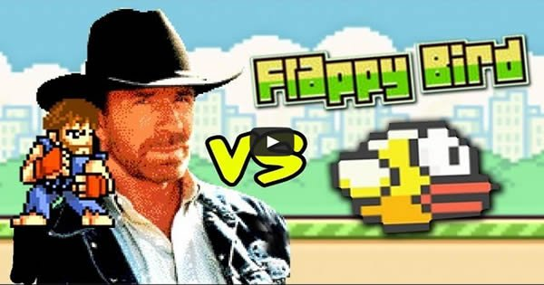 chuck norris vs flappy bird - chuck norris - Chuck Norris vs Flappy Bird