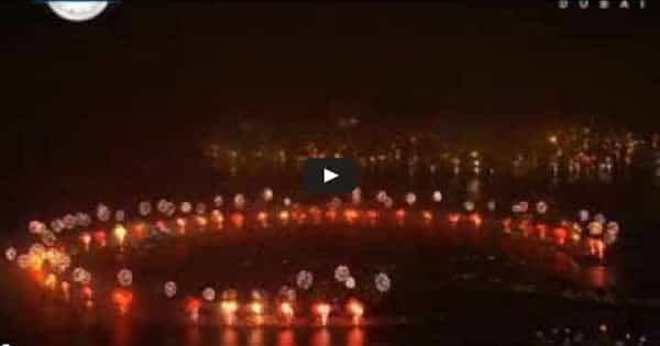 Show da Virada de Dubai bate recorde mundial ao queimar mais de 400 mil fogos de artifício 6