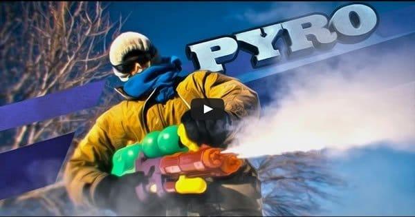 Épica batalha de neve 1