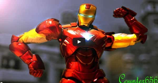 Stop motion Iron Man