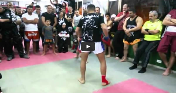 Menino de 5 anos que luta Muay Thai 9