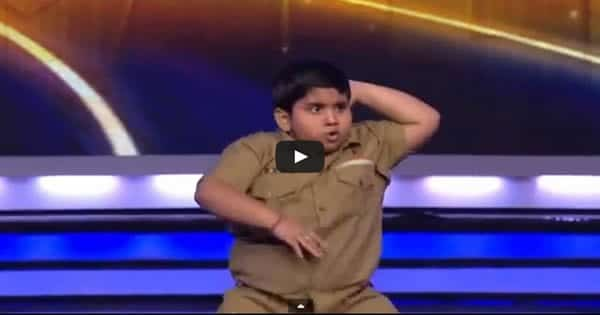 O gordinho de 8 anos que animou o India's Got Talent