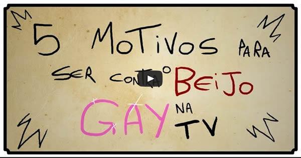 5 motivos para ser contra o beijo gay na tv 6