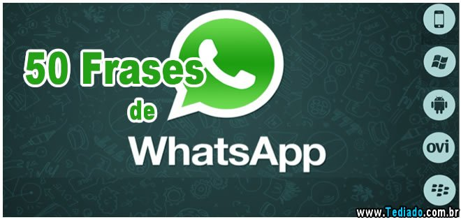 whatsapp - frases de whatsapp - 50 Frases de Whatsapp
