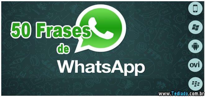 50 Frases De Whatsapp Blog Tediado