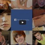 Retrospectiva do Justin Bieber no Facebook