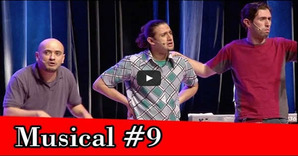 improvável - musical improvável #9 - musical1 - Improvável – Musical Improvável #9