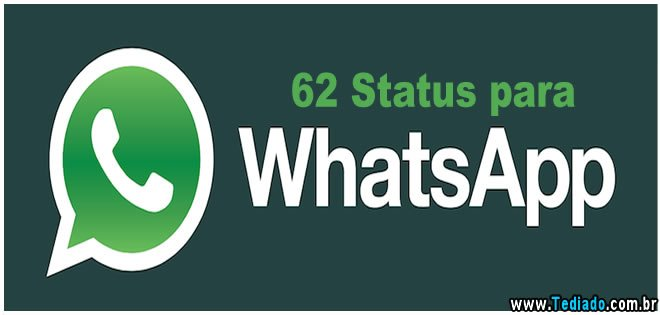 Status De Amor Para Whatsapp E: 62 Status Para Whatsapp
