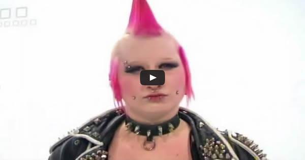 Transformando uma punk em uma menina de família 4