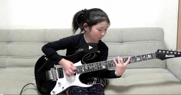 Garotinha de apenas 8 anos toca Scarified 1