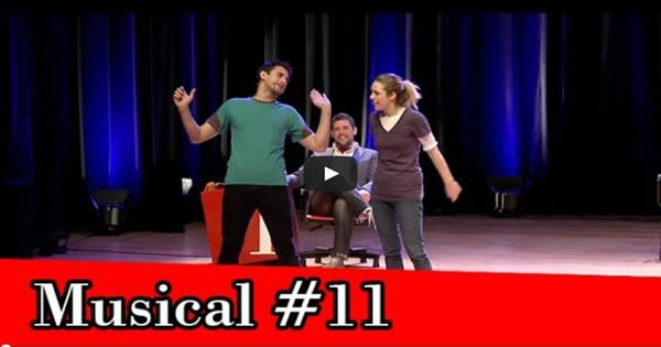 improvável - musical improvável #11 - musical - Improvável – Musical Improvável #11