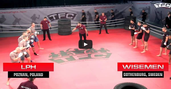 MMA mais épico de todos os tempo - 5 vs 5 1