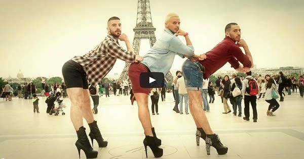 O coreógrafo Yanis Marshall decidiu mostrar que alguns homens podem sim andar de salto alto 3