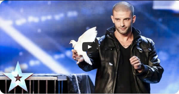 O ilusionista Darcy Oake's no Britain's Got Talent