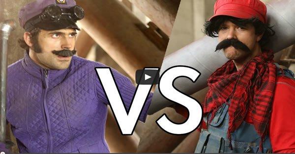 Mario VS Waluigi 1