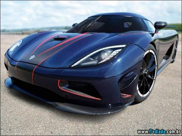 Os 10 carros mais rápidos do mundo 1