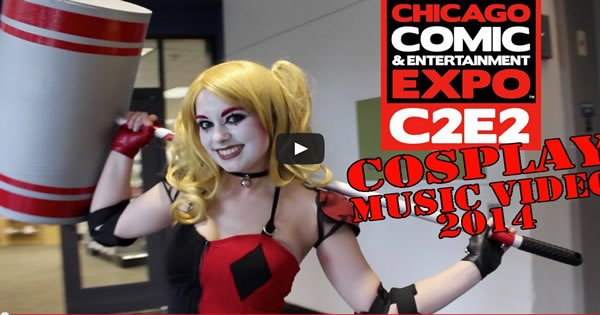 Photo of C2E2 – Cosplay Music Video – 2014
