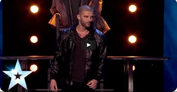 Um truque de magica impressionante no Britain's Got Talent