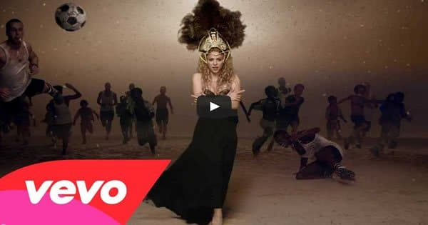 Shakira lança sua versão de música para a Copa 2014 2