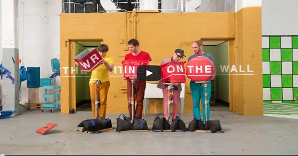 OK Go – The Writing's On the Wall – Official Video