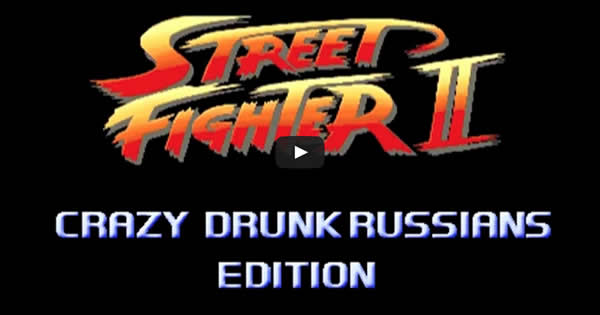 Street Fighter – Bêbados Russos 1