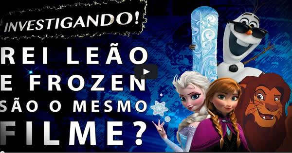 Investigando Teoria Disney: Rei Leão e Frozen são o mesmo filme? 1