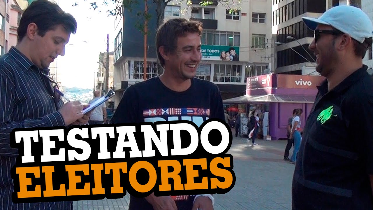 Video thumbnail for youtube video Testando eleitores - Stupidshow - Blog Tediado