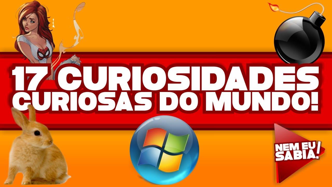 17 curiosidades curiosas do mundo! 1