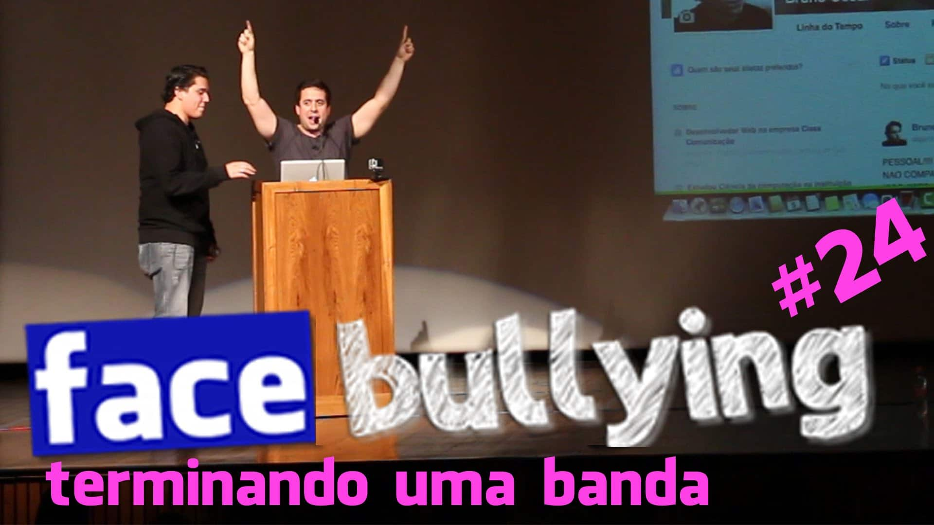 Facebullying – Terminando uma banda