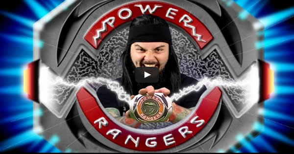 Hora de Morfar – Power Rangers Metal Cover
