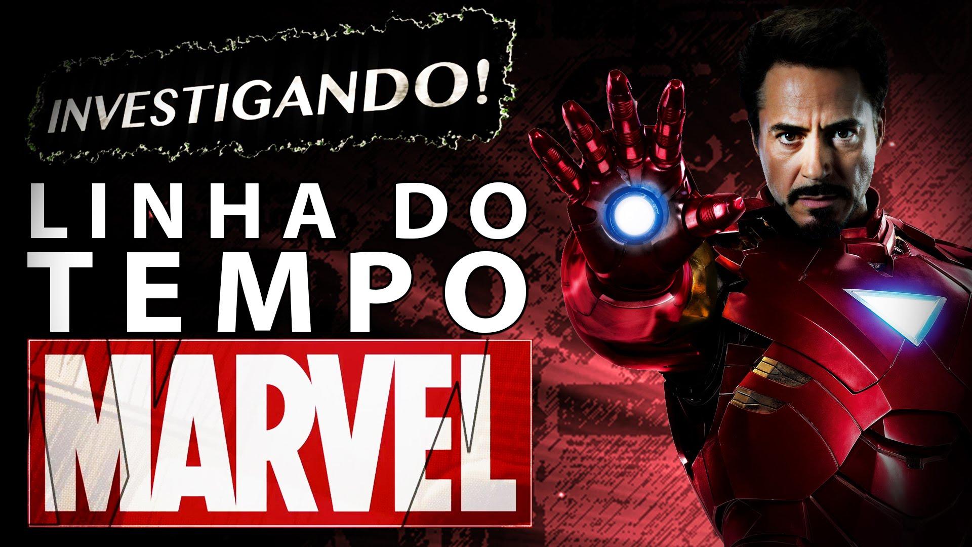 Linha do Tempo Universo Marvel 1
