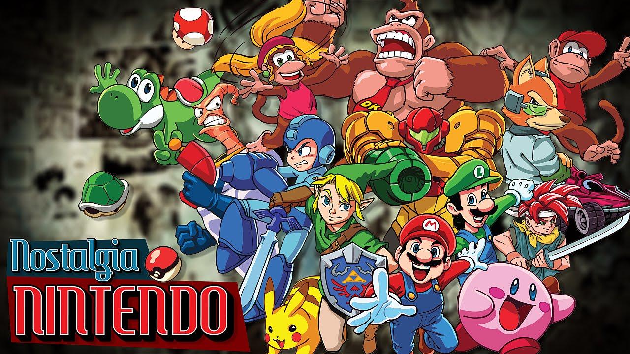 Video thumbnail for youtube video Nintendo - Nostalgia - Blog Tediado