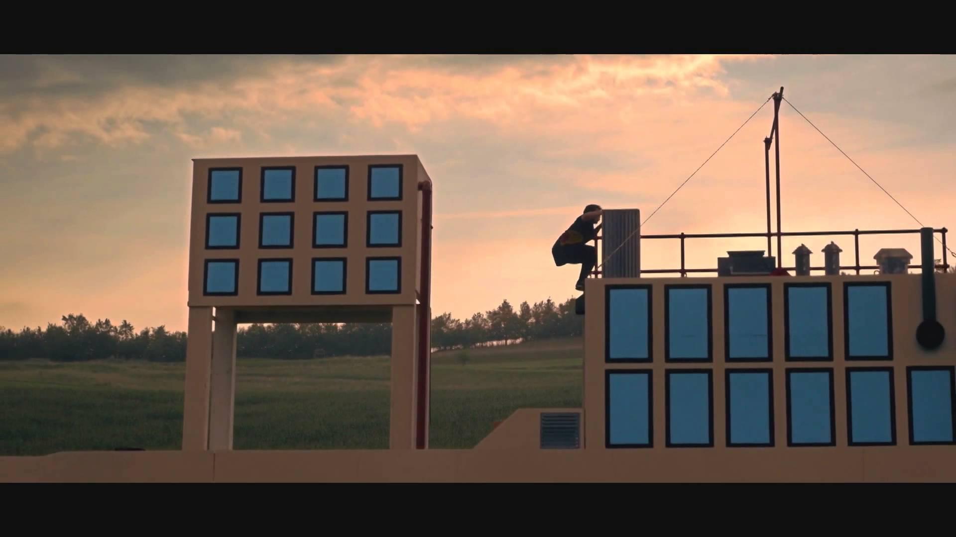 Rapaz criar cenário do Mario Bros para Parkour 3