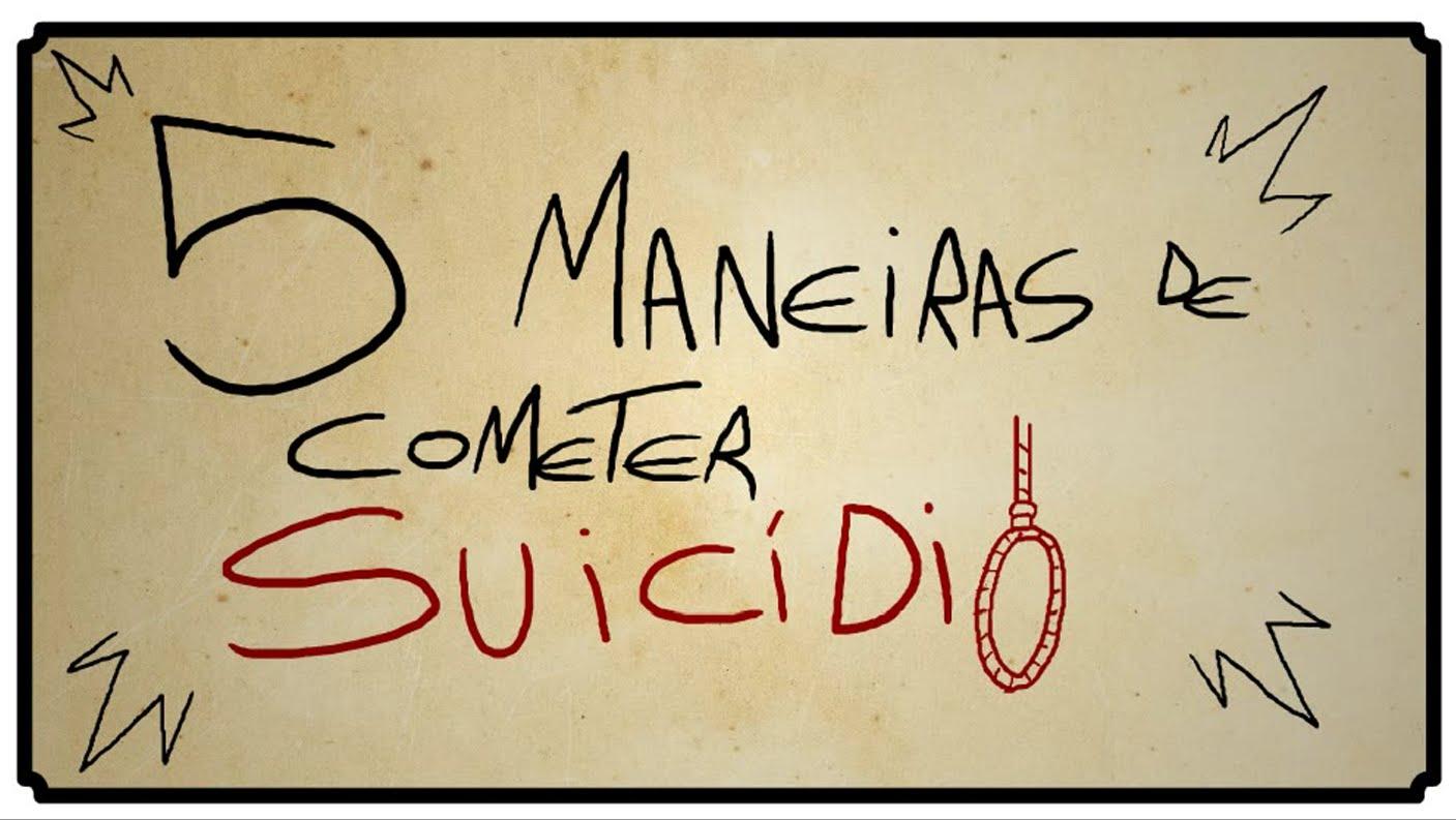 Video thumbnail for youtube video 5 maneiras de cometer suicídio - Blog Tediado