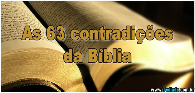 as-63-contradicoes-da-biblia