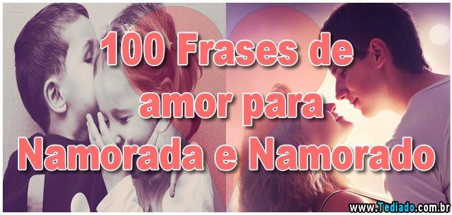 100 Frases De Amor Para Namorada E Namorado