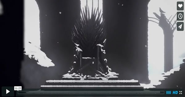 Animação do dia: Game of Thrones – Melhores momentos - game of thrones