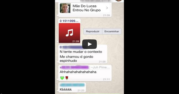 whatsapp - mae do lucas - A Mãe do Lucas entrou no Whatsapp
