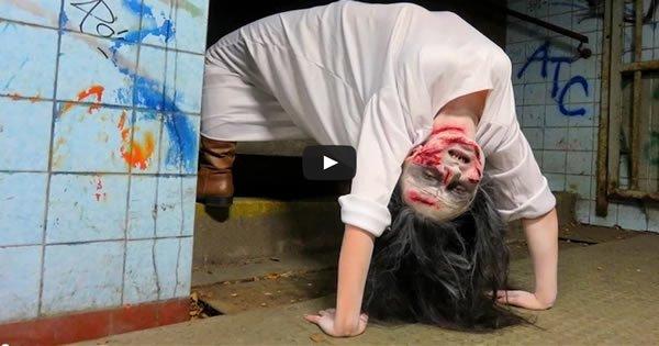 Pegadinha Garota do Exorcista 2